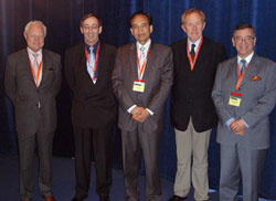 A photograph from the First Congress of the International Academy of Oral Oncology